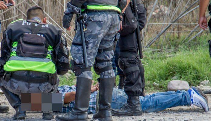 Detención de los motochorros